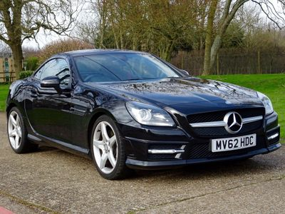 Mercedes-Benz SLK Convertible 1.8 SLK200 BlueEFFICIENCY AMG Sport 7G-Tronic Plus (s/s) 2dr