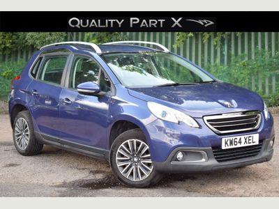 Peugeot 2008 SUV 1.2 e-VTi PureTech Active EGC (s/s) 5dr