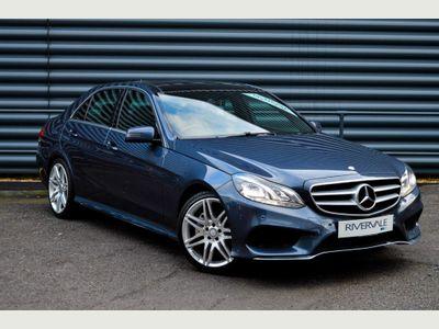 Mercedes-Benz E Class Saloon 3.0 E350 CDI BlueTEC AMG Line (Premium) 9G-Tronic Plus 4dr