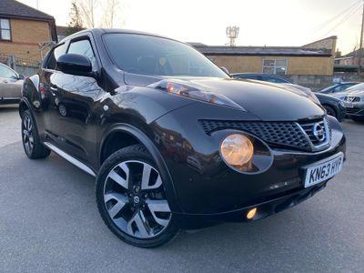 Nissan Juke SUV 1.6 16v n-tec 5dr