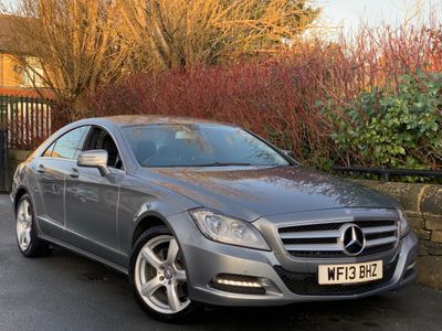 Mercedes-Benz CLS Coupe 2.1 CLS250 BlueEFFICIENCY Coupe 4dr Diesel 7G-Tronic Plus (s/s) (135 g/km, 201 bhp)