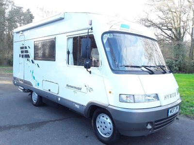 Hymer B584 Coach Built