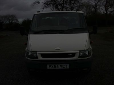 Ford Transit Chassis Cab 2.4 TDCi 350 Chassis Cab EF 2dr (DRW, Extended Frame, LWB)