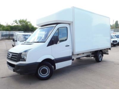 Volkswagen Crafter Luton 2.0 TDI CR35 LWB LUTON & TAIL LIFT