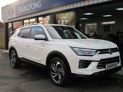 SsangYong Korando SUV 1.5 Ultimate Auto (s/s) 5dr