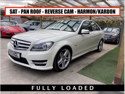 Mercedes-Benz C Class Saloon 1.8 C180 BlueEFFICIENCY Sport 7G-Tronic 4dr