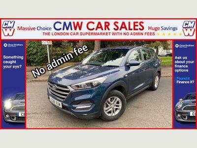 Hyundai Tucson SUV 1.7 CRDi Blue Drive S (s/s) 5dr