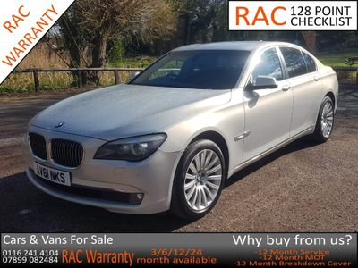 BMW 7 Series Saloon 3.0 740d Luxury Edition 4dr