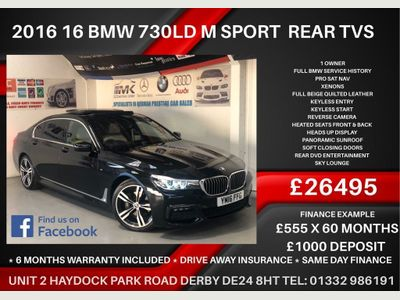 BMW 7 Series Saloon 3.0 730Ld M Sport Auto (s/s) 4dr