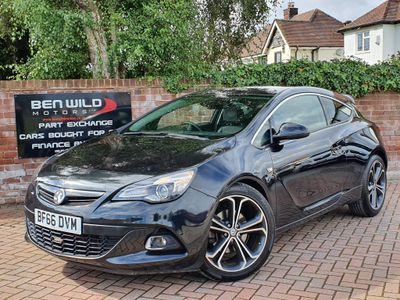 Vauxhall Astra GTC Coupe 1.6i Turbo Limited Edition (s/s) 3dr