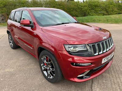 Jeep Grand Cherokee SUV 6.4 SRT Red Vapor Auto 4WD 5dr
