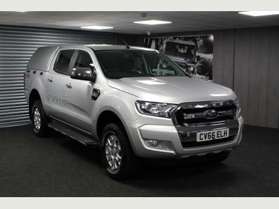 Ford Ranger Pickup 2.2 TDCi XLT Double Cab Pickup 4WD 4dr