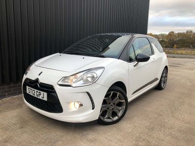 Citroen DS3 Hatchback 1.6 e-HDi Airdream Ultra Prestige 3dr