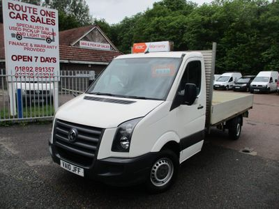 Volkswagen Crafter Chassis Cab 2.5 BlueTDI CR35 Dropside Truck 2dr (LWB)