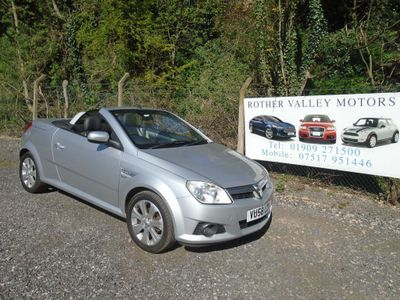 Vauxhall Tigra Convertible 1.3 CDTi 16v Sport Rouge 2dr