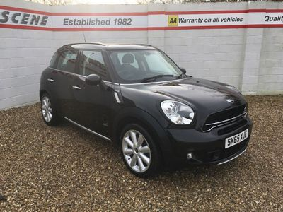MINI Countryman SUV 1.6 Cooper S (Chili) ALL4 ALL4 5dr