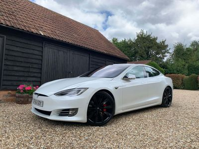 TESLA MODEL S Saloon P90D Executive Edition Auto 4WD 5dr