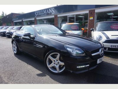 Mercedes-Benz SLK Convertible 1.8 SLK200 BlueEFFICIENCY AMG Sport 7G-Tronic Plus 2dr