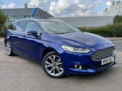 Ford Mondeo Estate 2.0 TDCi Titanium Powershift (s/s) 5dr