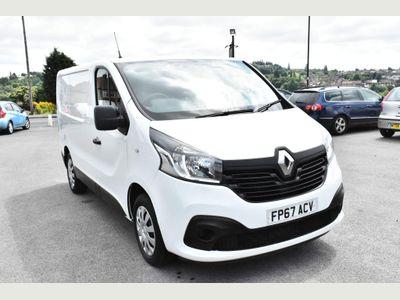 Renault Trafic Panel Van 1.6 dCi ENERGY 27 Business+ SWB Standard Roof EU6 (s/s) 5dr