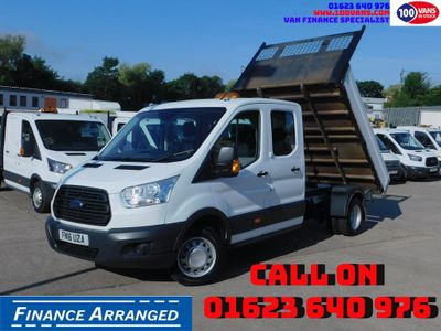 Ford Transit Tipper 2.2TDCI 125PS 350 DOUBLECAB TIPPER