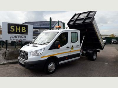 Ford Transit Chassis Cab 350 RWD L3 125 ps D/C utility tipper