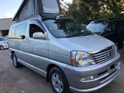 Toyota HIACE REGIUS POP TOP 4 BERTH NEW CAMPER Campervan CONVERSION LOW MILES 46K LPG