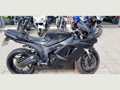 Kawasaki ZX-6R Super Sports 600 Ninja
