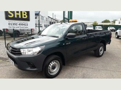 Toyota Hilux Pickup 2.4 D-4D Active + Wide Body Pickup 2dr