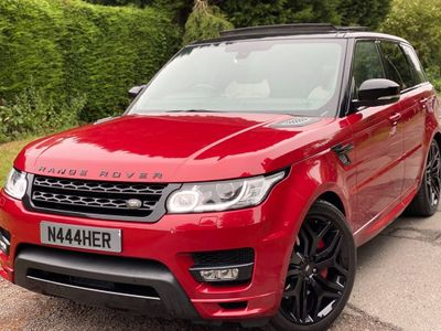 Land Rover Range Rover Sport SUV 4.4 SD V8 Autobiography Dynamic 4X4 5dr
