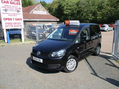 Volkswagen Caddy Panel Van 1.6 TDI BlueMotion Tech C20 Trendline Panel Van 4dr