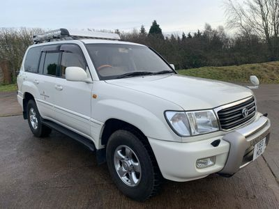 Toyota Land Cruiser Amazon SUV 4.7 V8 5dr (8 Seat)