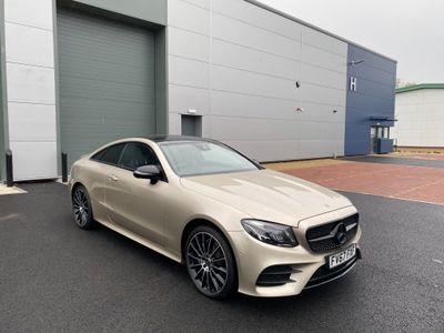 Mercedes-Benz E Class Coupe 2.0 E220d AMG Line (Premium Plus) G-Tronic+ 4MATIC (s/s) 2dr