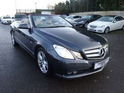 Mercedes-Benz E Class Convertible 2.1 E250 CDI BlueEFFICIENCY SE Cabriolet 2dr