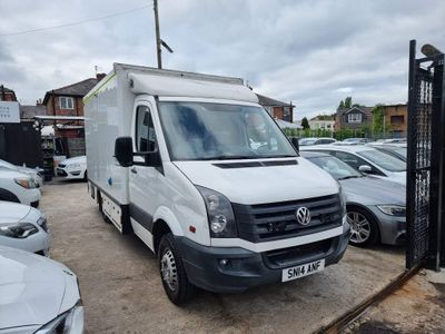 Volkswagen Crafter Chassis Cab 2.0 TDI 163 CR50 MWB HIGH ROOF AMBULANCE
