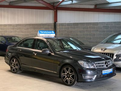 Mercedes-Benz C Class Saloon 2.1 C220 CDI AMG Sport Plus 4dr