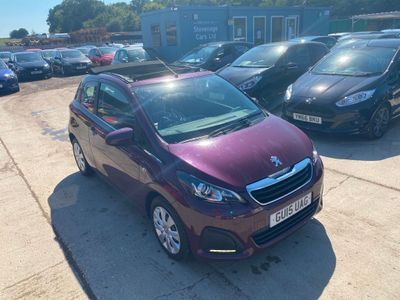 Peugeot 108 Convertible 1.0 VTi Active Top! 3dr EU5