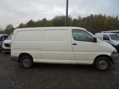 Toyota HiAce Panel Van 2.5 D-4D 280 GS (Twin Rear Doors) 4dr