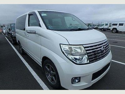 Nissan Elgrand MPV XL 4WD SUNROOF CURTAIN CAPTAIN SEATS