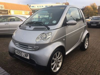 Smart fortwo Convertible 0.7 City Passion Cabriolet 2dr