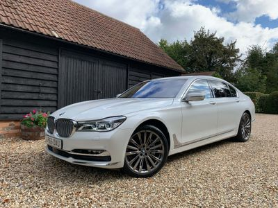 BMW 7 SERIES Saloon 3.0 740Ld Exclusive Auto xDrive (s/s) 4dr