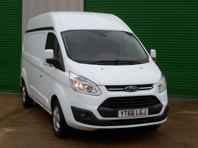 FORD TRANSIT CUSTOM Panel Van 2.2TDCI (125PS) 290 L2H2 LIMITED