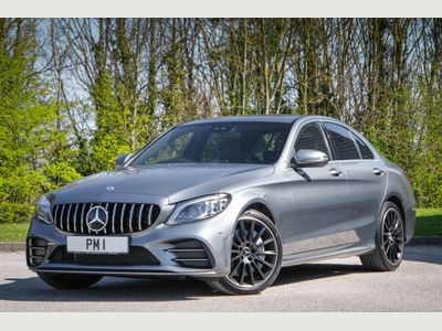 Mercedes-Benz C Class Saloon 3.0 C43 V6 AMG Edition G-Tronic+ 4MATIC (s/s) 4dr