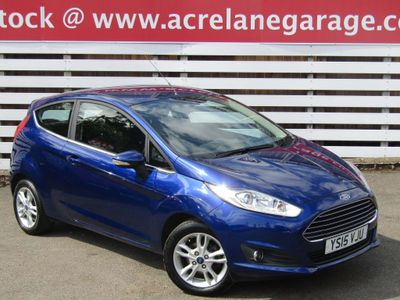 FORD FIESTA Hatchback 1.6 Zetec Powershift 3dr