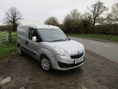 Vauxhall Combo Panel Van 1.6 CDTi 2300 16v Sportive Panel Van L1 H1 (s/s) 3dr