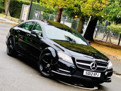 Mercedes-Benz CLS Coupe 4.7 CLS500 BlueEFFICIENCY AMG Sport 7G-Tronic Plus 4dr