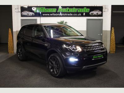 Land Rover Discovery Sport SUV 2.0 TD4 SE Tech Auto 4WD (s/s) 5dr