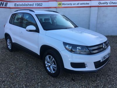 Volkswagen Tiguan SUV 2.0 TDI BlueMotion Tech S 2WD (s/s) 5dr