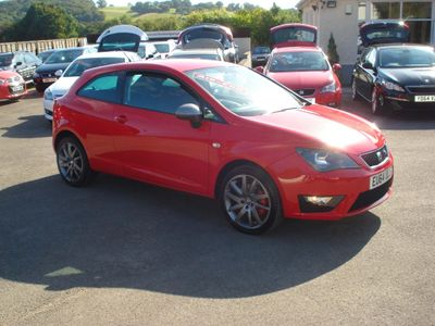 SEAT Ibiza Hatchback 1.4 TSI ACT FR Edition SportCoupe 3dr