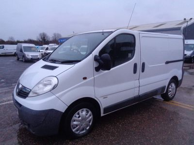 Vauxhall Vivaro Panel Van 1.9 CDTI 2900 Panel Van 4dr (SWB)